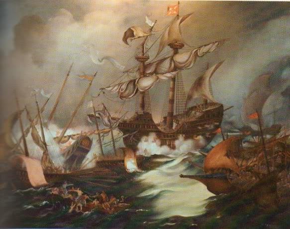 A Expansão Portuguesa BatalhanavalDiu