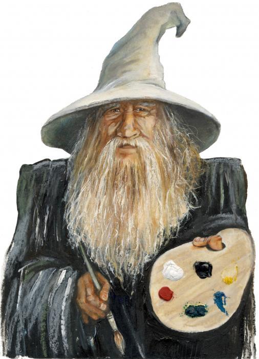 Predloži avatar za osobu iznad  - Page 7 Painting-wizard-j-w-baker