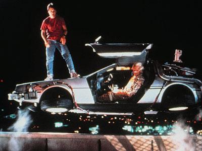 Vehiculos de cine! Back-to-the-future