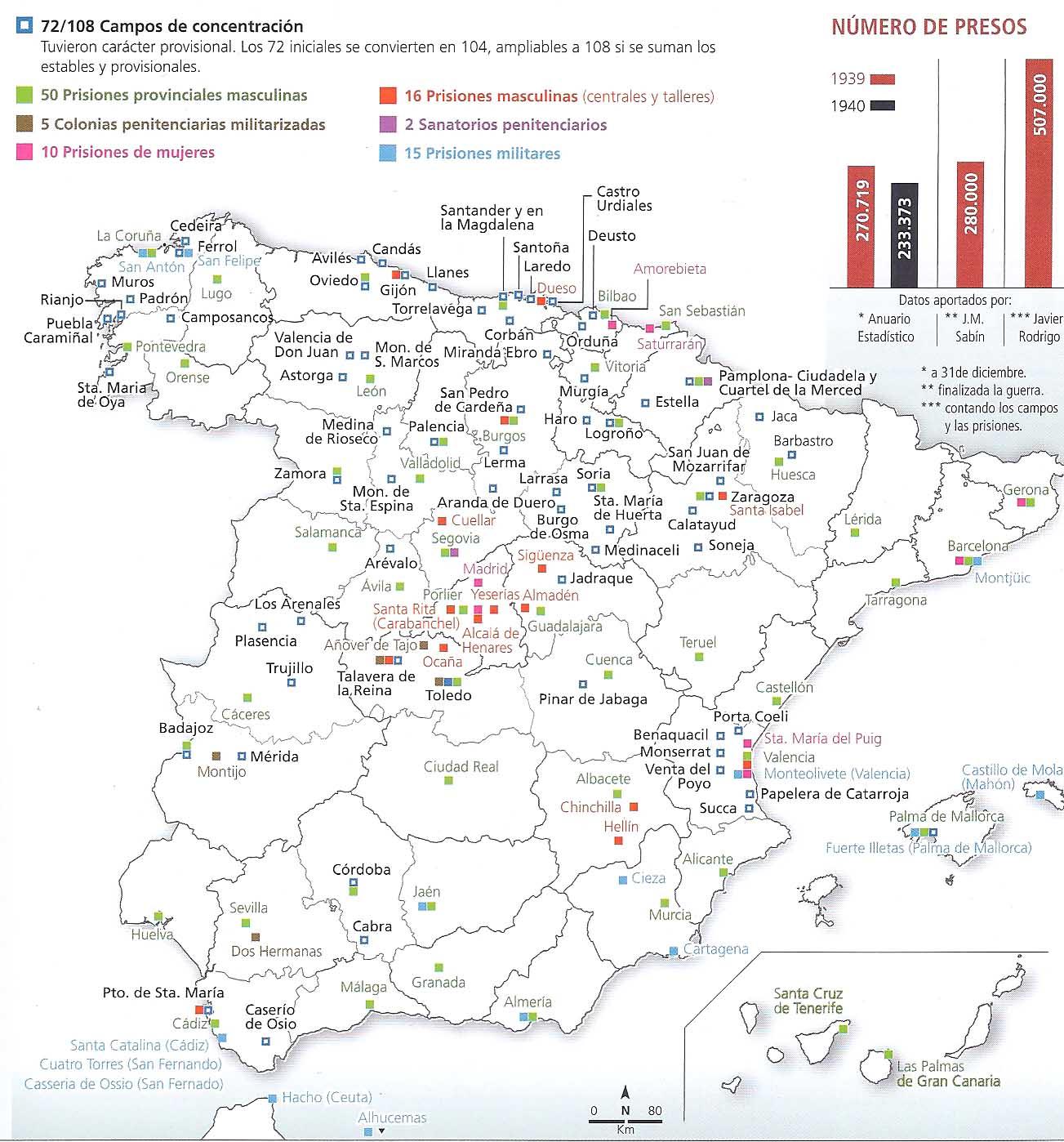 ¿Campos de concentración en España de posguerra? Los-presos-y-los-campos-de-concentracion-del-franquismo