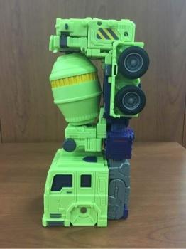 [Toyworld] Produit Tiers - Jouet TW-C Constructor aka Devastator/Dévastateur (Version vert G1 et jaune G2) - Page 4 6Ebgu1qF