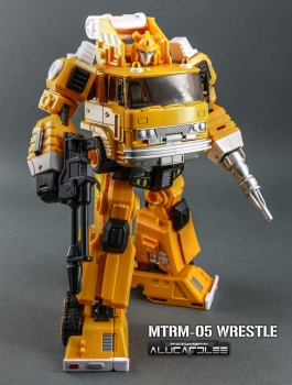 [Maketoys] Produit Tiers - MTRM-03 Hellfire (aka Inferno) et MTRM-05 Wrestle (aka Grapple/Grappin) - Page 4 LEDbfnV4