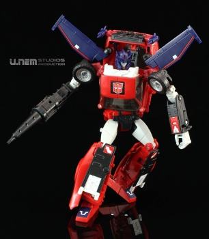 [Masterpiece] MP-25L LoudPedal (Noir) + MP-26 Road Rage (Rouge) ― aka Tracks/Le Sillage Diaclone - Page 2 AAmPwryw