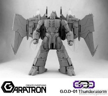 [Garatron] Produit Tiers - Gand of Devils G.O.D-01 Thunderstorm - aka Thunderwing des BD TF d'IDW OwREsbOw