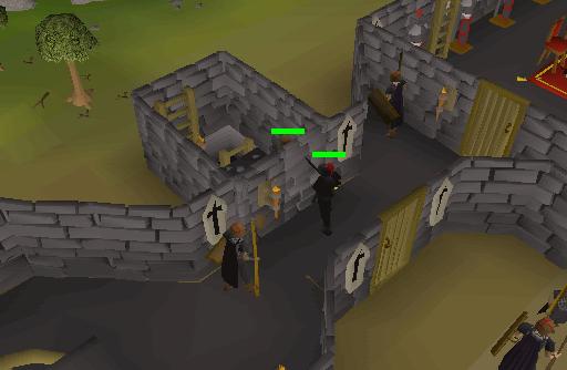 Black Knights' Fortress Muur