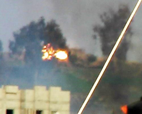 فذائفالمقاومة  في فلسطين ( قطاع غزة ) 60307166