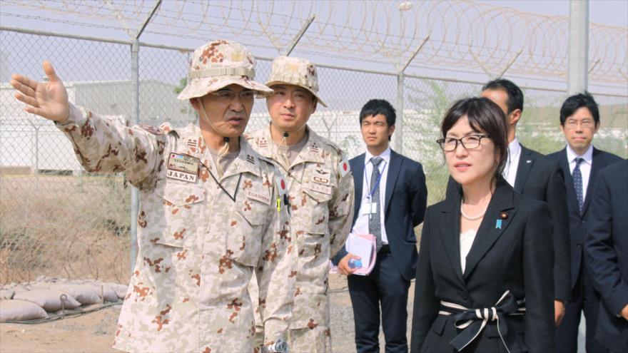 Japón amplía su base militar en África para contrarrestar a China. 00344951_xl