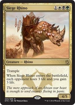Khans of Tarkir - Page 5 Channelfireball_Siege-Rhino_9-8-2014-copy