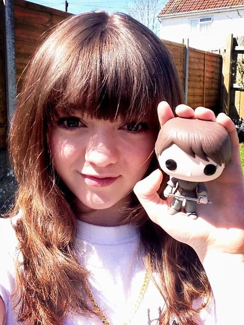 Maisie Williams (Arya Stark) Tumblr_mrgzcpCuV31qdjd8lo1_500