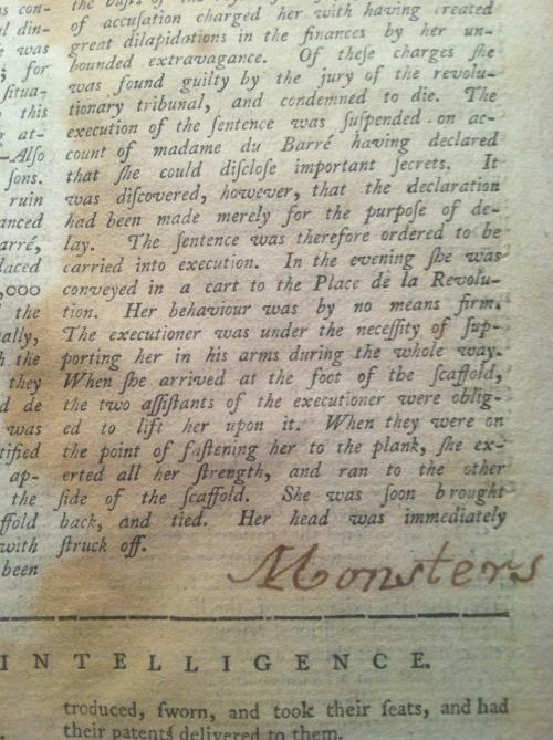 Newspaper from 1794 Tumblr_mnskeiC2341r09wpjo1_500