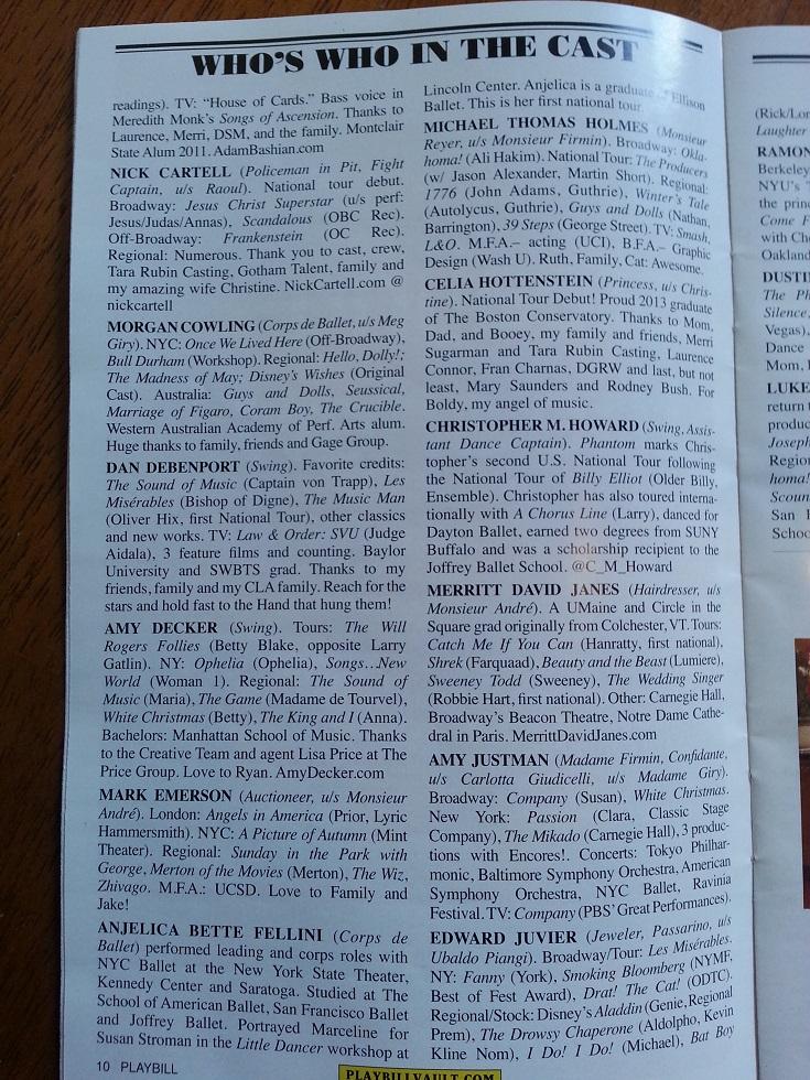 The Broadway production + Original US Replica tour - Page 20 Tumblr_n291jjsg991sr6sj3o8_1280