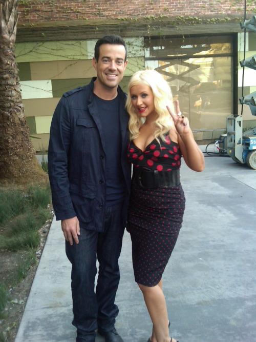 Christina Aguilera estara en el especial de fin de año con Carson Daily Tumblr_liy7erJZtT1qbhhnbo1_500
