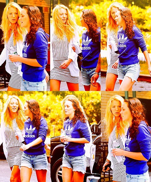 Blake Lively and Leighton Meester Tumblr_lpuitfPx0Z1qfslajo1_500