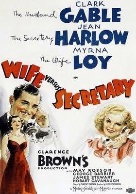 Wife vs Secretary  ( Sa Femme et sa dactylo) de Clarence Brown (1936) Tumblr_lqdu8p8C2Y1qedgg6o1_400
