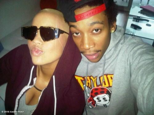 Wiz Khalifa and Amber Rose. Tumblr_m2xejaEXnu1rqat97o1_500