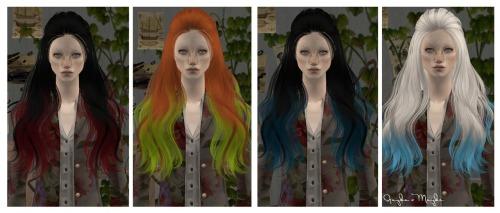 Прически для The Sims 2 .Женские Tumblr_m8e6nx24PY1rbqjpfo1_500