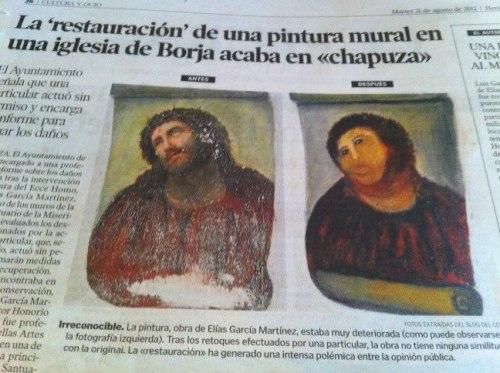 """La 'restauración' de una pintura mural en una iglesia de Borja acaba en """"chapuza"""" Tumblr_m93qn7e1aH1roznxco1_500"""