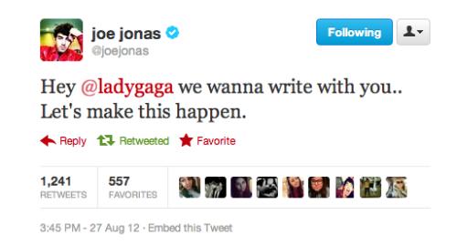 Otros artistas opinan sobre Lady Gaga [2] - Página 48 Tumblr_m9flx8V3mG1qbj931o1_500