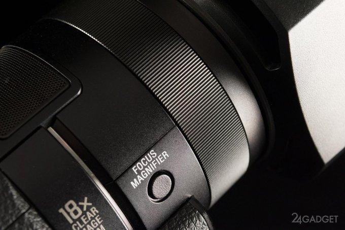SONY FDR-AX100 - ретро внешность и современная начинка 1402462940_24gadget-sony-fdr-ax100-focusring-1500x1000