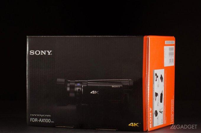 SONY FDR-AX100 - ретро внешность и современная начинка 1402462942_24gadget-sony-fdr-ax100-box-1500x1000-02