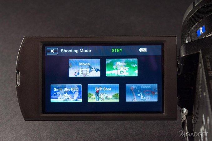 SONY FDR-AX100 - ретро внешность и современная начинка 1402462954_24gadget-sony-fdr-ax100-shootingmodes-1500x1000