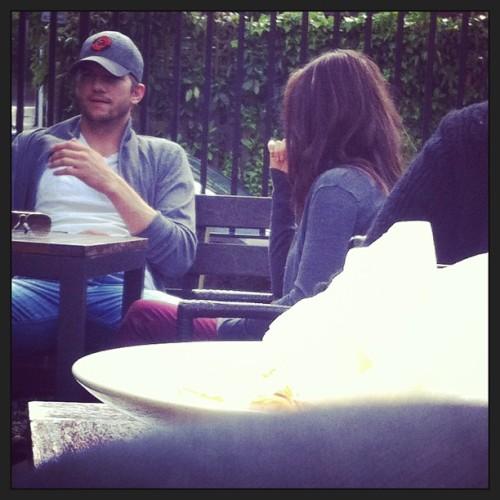 Mila Kunis and Ashton Kutcher. Tumblr_mnr2qo0mVJ1rd8bcro1_500