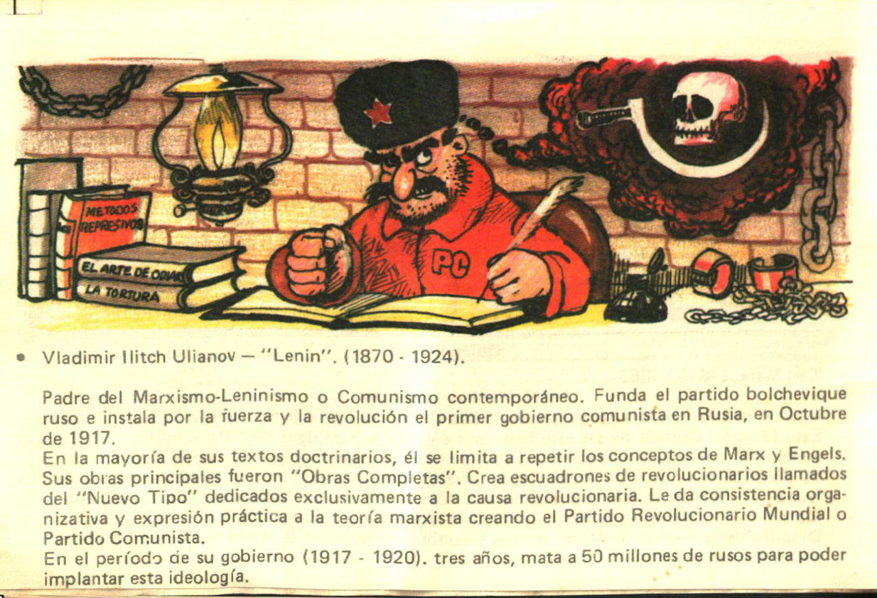 Propaganda Anti-comunista (Chile 1984) Tumblr_mglj8r1DHS1rqgmxvo3_1280
