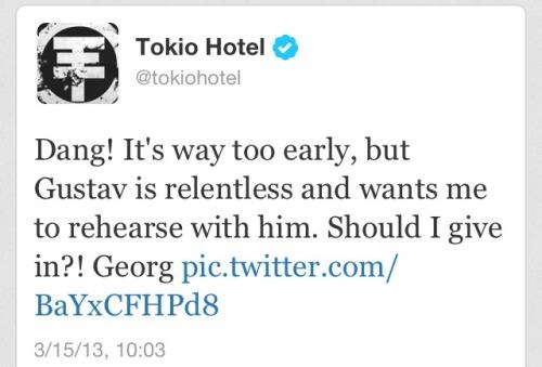 Twitter @tokiohotel | Atualização 15/03/2013 Tumblr_mjp2o0ZECH1rv3ublo1_500
