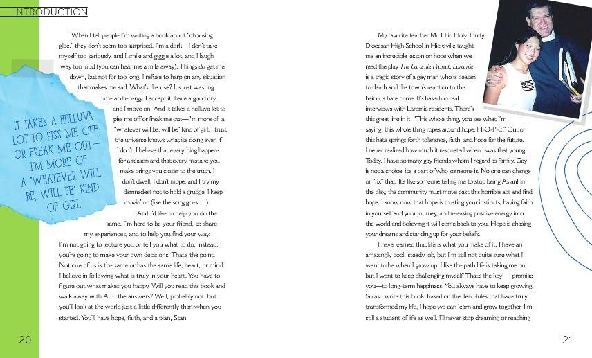 """صور من كتاب تينا """" choosing glee """" Tumblr_mmlz21MrNX1rkr8qco8_1280"""
