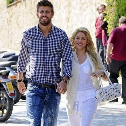 Shakira and Pique. Tumblr_ljqwblwk6N1qik9uio1_500