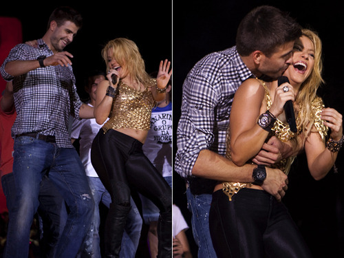 Shakira and Pique. Tumblr_lmh6h9LTO81qdbs8po1_500
