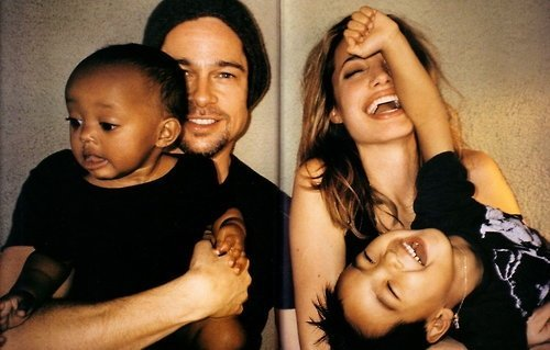 Brad Pitt and Angelina Jolie. Tumblr_lnmfk1lFo11qm6mg4o1_500