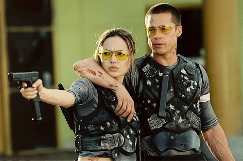 Brad Pitt and Angelina Jolie. Tumblr_lpjaq4tOaF1qm9t85o1_500