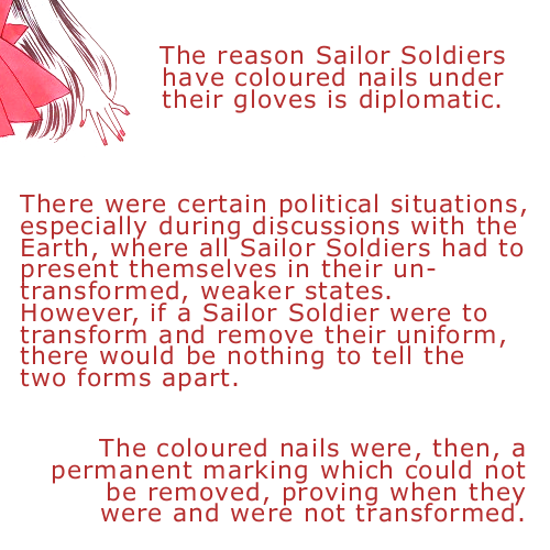Theory: Why do they use nail polish when they wear gloves? Tumblr_m09pboNao41qluysgo1_500