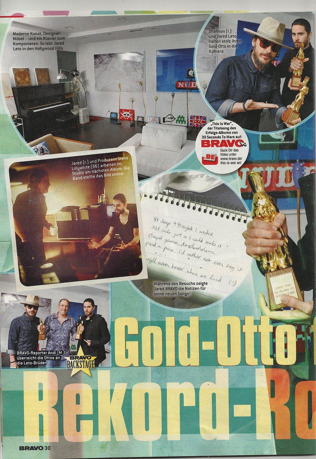 27 juin 2012 - Bravo magazine rend visite à Jared Leto, dans sa maison à LA Tumblr_m6aj6gCiUy1qc5nplo1_1280