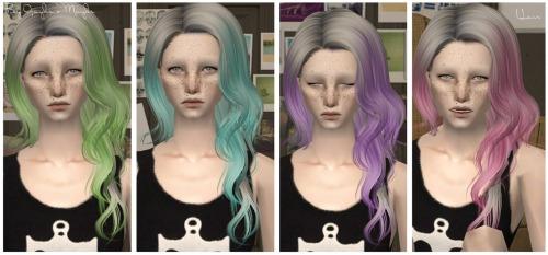 Прически для The Sims 2 .Женские Tumblr_m7h2u2CFky1rbqjpfo1_500