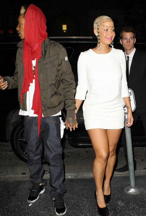 Wiz Khalifa and Amber Rose. - Page 2 Tumblr_mcdevpuaT51rb45x3o1_500