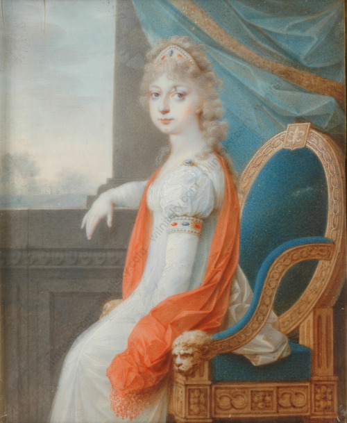 Marie-Thérèse-Charlotte in Art Tumblr_mderg2fZWO1qiu1coo1_500