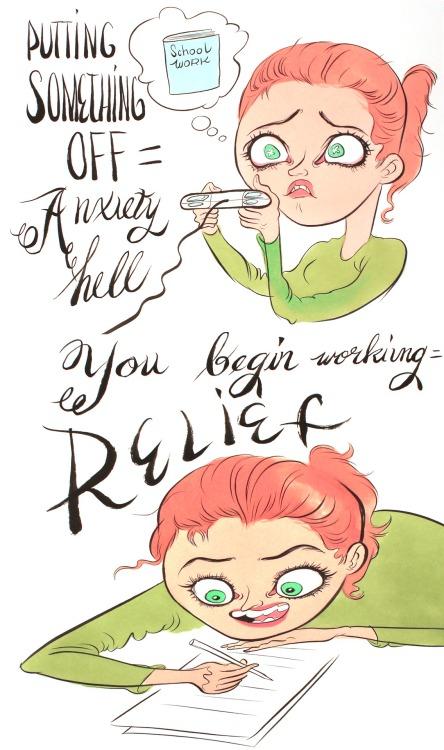 [inspi] Procrastination, des techniques pour la combattre - motivation, gestion du temps ... - Page 3 Tumblr_me4q8bHtc51qbd410o1_500