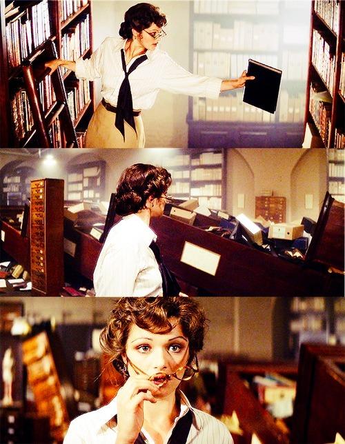Les scènes de librairies et de bibliothèques au cinéma! Tumblr_l6d3bzVR7F1qb9tg5o1_500
