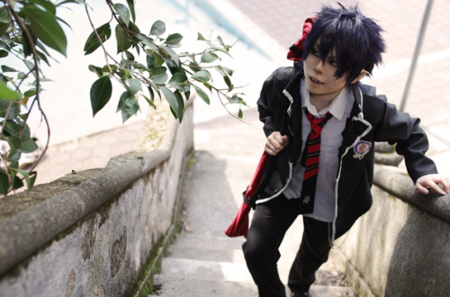 Ao no Exorcist cosplay Tumblr_lmbxe6l8oF1qbdbkuo1_500