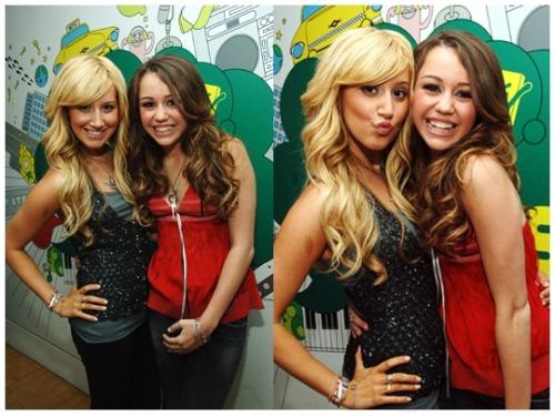 Ashley Tisdale and Miley Cryus Tumblr_lqiwxyLXfS1qi7yi5o1_500