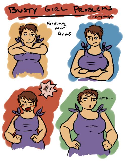 (blog) avoir une grosse poitrine, avec humour :) (big boobs) Tumblr_lyqt71D53H1rone1bo1_500