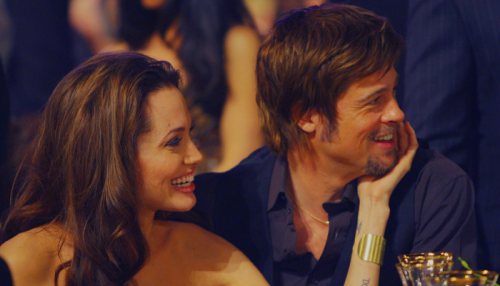 Brad Pitt and Angelina Jolie. Tumblr_lhd53pgzwZ1qcgimwo1_500