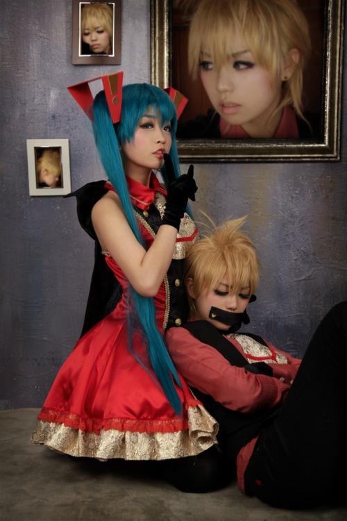 project diva  cosplay Tumblr_lkzgzmA5H51qbo448o1_500