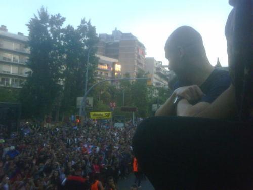 السعادة تغمر لاعبي برشلونة صور جميلة جدا الاحتفال باللقب  Tumblr_ll5dcvBPmE1qdxgrdo1_500