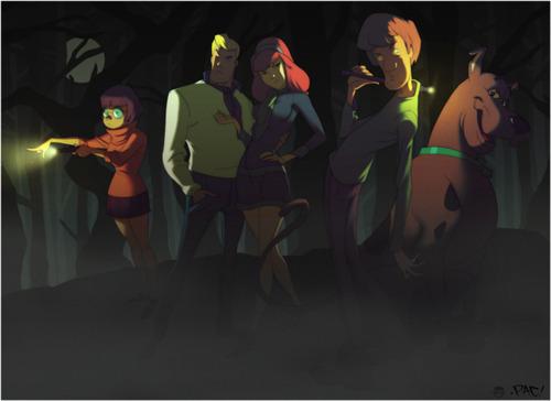 Scooby Doo. Tumblr_lo1tsh6TbT1qh6yoeo1_500