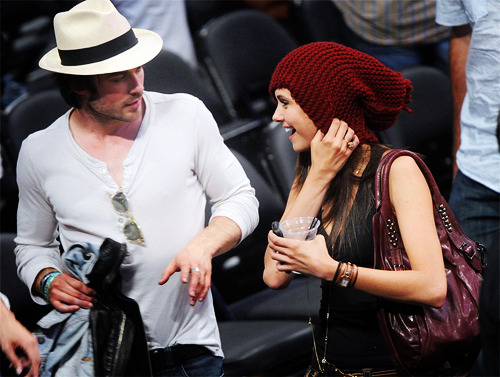 Nina Dobrev and  Ian Somerhalder. - Page 5 Tumblr_locs5kSBs51qkaq8to1_500