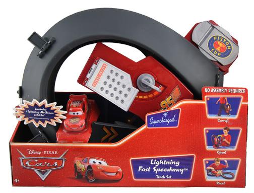 Mcqueen version plastic face?! Lightning-fast-speedway