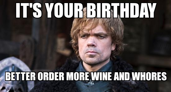 Happy belated birthday Quill!! Tyrion-lannister-birthday-got-party